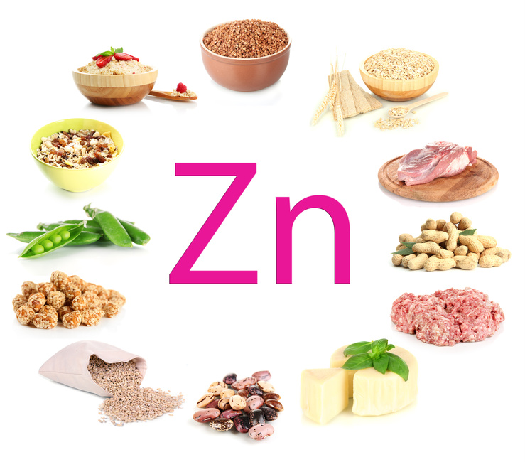 Zinc is an essential trace element for producing healthy sperm and eggs. It's also important during pregnancy for mothers and developing babies.